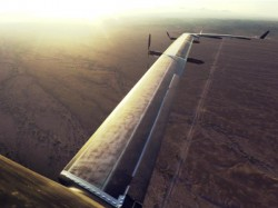 Facebook's solar-powered drone set to beam free internet for billions