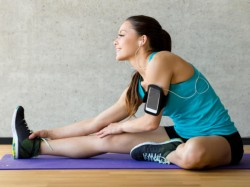 Smartphones based exercises may cheer your mood