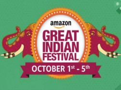 Amazon Great Indian Festival Sale Begins on October 1 with up to 80% Discount Across Categories