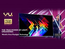 Vu Launches Limited Edition Premium UHD TVs and The Curve TV Starting From Rs. 1,00,000