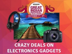 Amazon Great Indian Sale Day 3 Offers: Crazy Deals on Electronics Gadgets