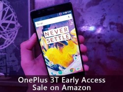 Grab OnePlus 3T Before Others from Amazon, Offer Limited For Just 1 Hour: Here's How to Get it