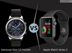 Apple Watch Series 2 vs Samsung Gear S3: Here's A Smartwatch Shootout
