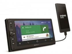 Sony XAV-AX100 audio system with Apple CarPlay and Android Auto support introduced
