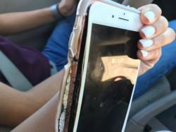 Apple iPhone 7 Plus explodes; Caught on camera