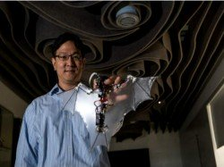 Bat-Bot is a drone that looks and flies like a real bat