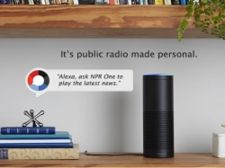 Amazon Alexa enabled devices will now come with NPR One app