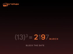 Micromax teases dual camera smartphone before tomorrow's launch