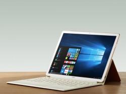 Huawei launches MateBook X, MateBook E, and MateBook D notebooks
