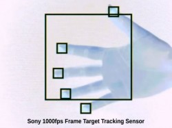 Sony IMX382 high-speed vision sensor can detect and track objects at 1,000 fps