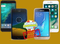 iPhone 7, iPhone SE, Google Pixel, Moto G5 Plus, Galaxy On Nxt and more: Summer Sale offers