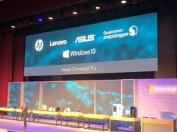Qualcomm along with HP, Lenovo and Asus to build Windows 10 PCs powered by Snapdragon