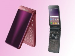 Samsung Galaxy Folder 2 Android flip phone launched; priced around Rs. 17,000