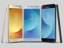 Samsung Galaxy J3, Galaxy J5, and Galaxy J7 (2017) officially introduced