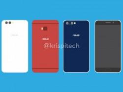 Alleged Asus ZenFone 4 series design leaks online