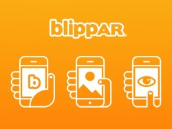 Blippar Halos is an Augmented Reality app with facial recognition features