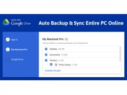 Google unveils Backup and Sync app for Mac and Windows, promises easy accessibility