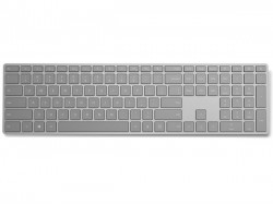 Microsoft's newly launched Modern Keyboard features a fingerprint scanner key