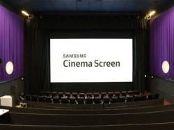 Samsung installs first LED screen in a cinema