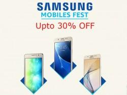 Samsung Mobile Fest: Upto 30% off on mid-range, budget, high-end smartphones