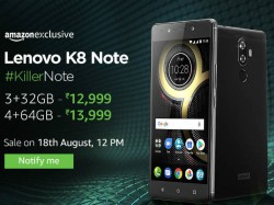 Can't wait for Lenovo K8 Note until Aug 18th, here are some other similar smartphones