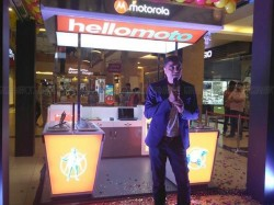 Motorola has no plans to launch feature phones: Instead opens 6 exclusive stores in India