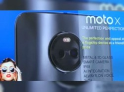 Moto X4 with rear dual cameras leaked in new render