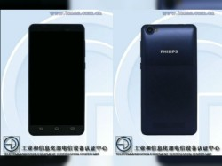 New Philips phone with 8MP camera visits TENAA