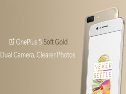 OnePlus 5 Soft Gold limited edition variant announced; sale starts on August 9