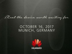 Press invite suggests October 16 launch for Huawei Mate 10
