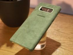 Samsung Alcantara case revealed alongside Galaxy Note 8
