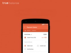 True Balance added mobile wallet feature
