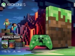 Minecraft to be bundled with a themed Xbox One S console