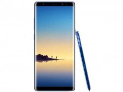 Galaxy Note 8 in Deep Sea Blue color appears online