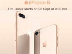 Apple iPhone 8 and iPhone 8 Plus pre-order starts on 22 September: Threat to premium smartphones
