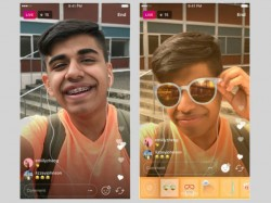 Instagram now introduces face filters for live streams