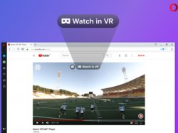 Opera browser now supports 360-degree videos in Virtual Reality headsets