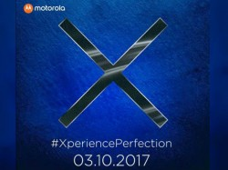 Save the date; Motorola Moto X4 with dual cameras coming to India on October 3