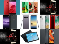 Weekly Roundup: Smartphones launched last week: iPhone X, iPhone 8, Galaxy Note8, Mi A1 and more