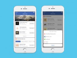 Facebook now adds direct food-ordering feature