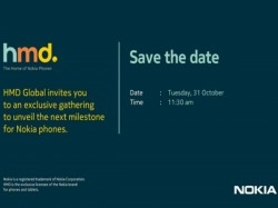 HMD Global sends invites for October 31 event in India; Nokia 7 launch likely