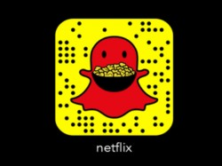 Snapchat partners with Netflix to launch a 'first-of-its-kind' 3D world lens
