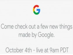 Watch the Google Pixel 2, Pixel 2 XL launch event live from here