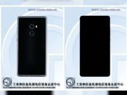 Xiaomi Mi Mix 2 Black Ceramic variant visits TENAA showing off its stunning design