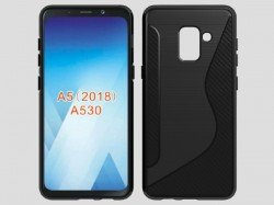 Samsung Galaxy A5 (2018) new leaked renders confirm bezel-less display, single camera and more