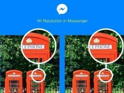 Facebook now lets you share 4K resolution photos in Messenger