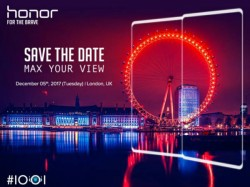 Honor V10 to feature Kirin 970 SoC, 6GB RAM; launch on December 5
