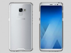 Samsung Galaxy A7 (2018) press renders show the device in all its glory