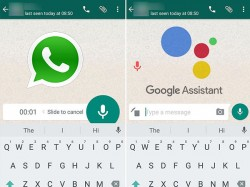 How to send WhatsApp voice messages using Google Assistant