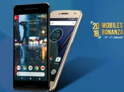 2018 New Year discount on smartphones: Google Pixel 2, Redmi note 4, Mi A1, Moto C Plus and more